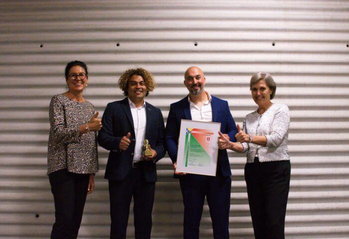 Idee Suisse Golden Idea Award an Immocreate Gmbh