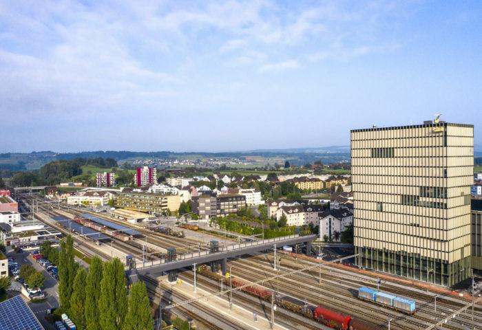 Bedeutende Unternehmen wählen den Standort ZUGWEST