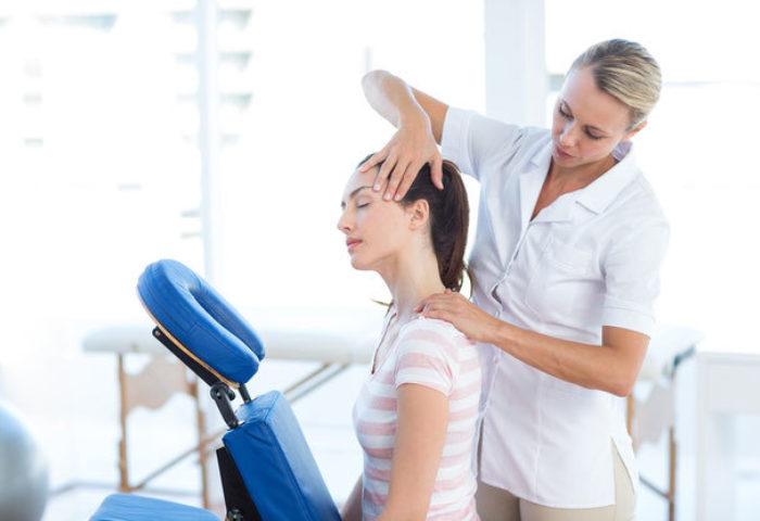 Bodyalarm: Probetag für Massagen am Arbeitsplatz