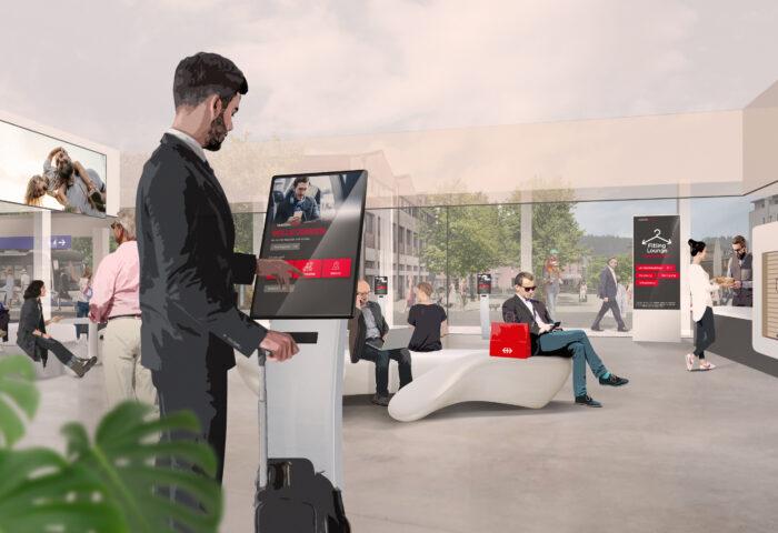 Mobilitätshub Rotkreuz - Bahnhof der Zukunft
