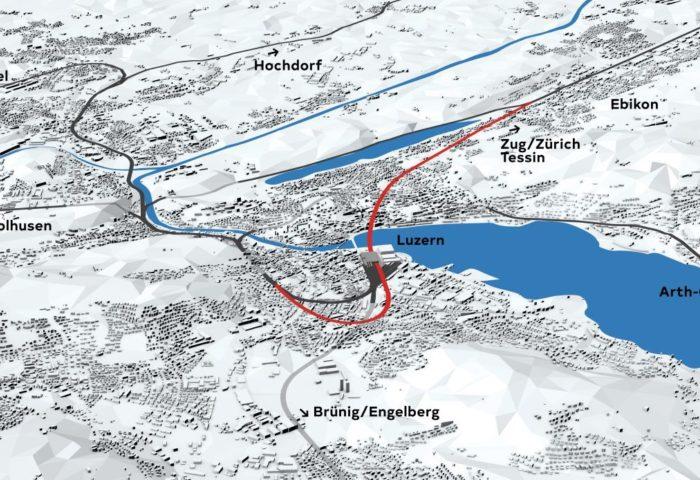 Durchgangsbahnhof Luzern