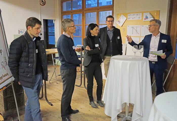 Expertenrunde und Networking