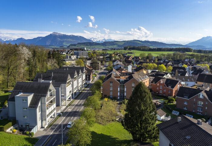 Hünenberg: Bevorzugte Lage zwischen See und Reuss